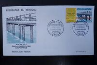 SENEGAL AERIEN 79  PREMIER JOUR FDC   PONT DE BAILA  EUROPAFRIQUE   100F    1969