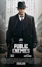 Public Enemies movie poster print  : Johnny Depp poster : 11 x 17 inches :