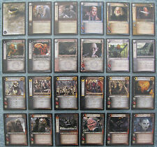 Lord of the Rings TCG Shadows Rare Cards Part 1/2 (CCG LOTR)