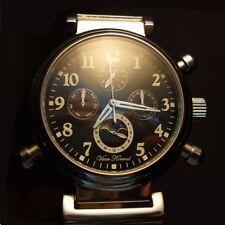 Automático Para Hombre prosidion Vaan Konrad 20 Joya sun/moon Dial Watch Cara Negra