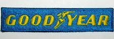 Toppa ricamata patch termoadesiva logo GOOD YEAR cm. 10 x 2