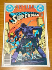SUPERMAN ANNUAL #9 VOL 1 DC COMICS NEAR MINT CONDITION 1983