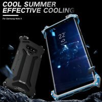 R-JUST Shockproof Aluminum Metal Armor Case Cover For Samsung Galaxy Note 10 S20