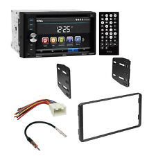 Boss Car Radio 2 Din Bluetooth Dash Kit Harness For 1995-11 Ford Lincoln Mercury