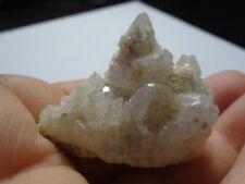 1 OWYHEE QUARTZ Crystal Cluster Specimen, 24.5g ID USA