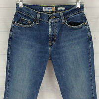 Old Navy Womens Size 2 Short Stretch Blue Medium Wash Thick Bootcut Jeans