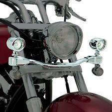 Show Chrome 82-226 Mini Elliptical Driving Light Bar Kit For Suzuki VL800 & C50