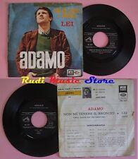 LP 45 7'' ADAMO Non mi tenere il broncio Lei 1965 italy VOCE PADRONE cd mc dvd*
