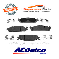 Front Disc Brake Pads Ceramic ACDelco Advantage 14D1508CH Fit Ford Explorer Flex