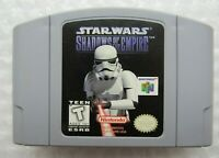 ✅ *GREAT* Star Wars Shadows of the Empire Nintendo 64 N64 Video Game Cart Retro