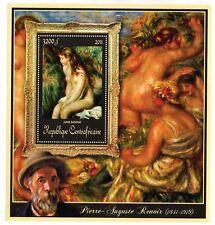 Burundi -12 Different  MNH SHEET - Art - Paintings - Pierre-Auguste Renoir -2011