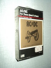 AC/DC K7 AUDIO FRANCE FOR THOSE ABOUT TO ROCK (WE SALUTE YOU ) (3)