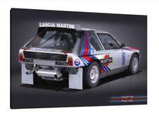 LANCIA DELTA S4 - 30x20 pollici Tela Art-Gruppo B Rally foto incorniciata
