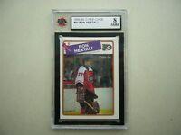 1988/89 O-PEE-CHEE NHL HOCKEY CARD #34 RON HEXTALL KSA 8 NM/MT SHARP+ 88/89 OPC