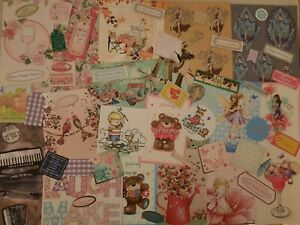 CRAFTROOM CLEAROUT CARD MAKING TOPPERS AND SENTIMENTS NICE MIXED LOT SET R
