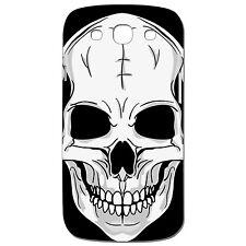 Coque 3 D Téléphone - SAMSUNG GALAXY S3 - TÊTE DE MORT CRANE ROCK METAL SKATE