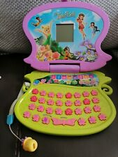 Tinkerbell Electronic Game Home Education Laptop Working interactive