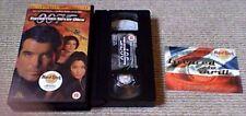 JAMES BOND 007 TOMORROW NEVER DIES MGM UK PAL VHS VIDEO 1998 Pierce Brosnan