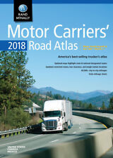 Motor Carriers 2018 Road Atlas USA professionals Truckers Drivers Highway Guide