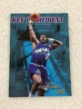 "KARL MALONE INSERT ""KEY INGREDIENT"" UTAH JAZZ 1997 FLEER BASKETBALL CARD"