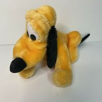 Vintage Disneyland Walt Disney World Parks Pluto Dog plush Stuffed Animal 12""