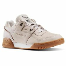Reebok Workout Lo Plus Womens UK 4.5 EU 37.5 Golden Neutrals Retro Trainers