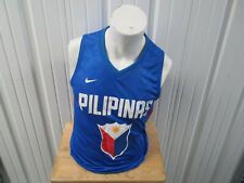 VINTAGE NIKE Philippines OLYMPIC BASKETBALL MEDIUM TEAM PRACTICE JERSEY PREOWNED