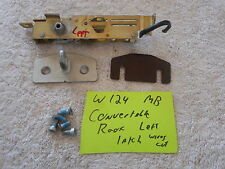 Mercedes W124 Convertible Top left side latch roof release cabriolet coupe
