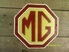 nice MG of Oxford Octaganal Cast Metal SIGN .....Superb Gift  (cm) not enamel
