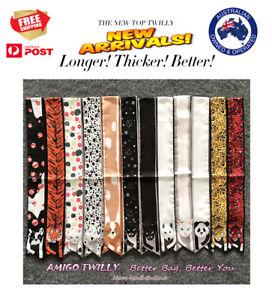 NEW AMIGO Twilly Multi-Use Mini Scarf Wrist Head Bag Hat Tie Animal Dog Cat 1813