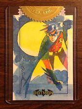 Robin Batman Archives sketch card Mark McHaley case incentive