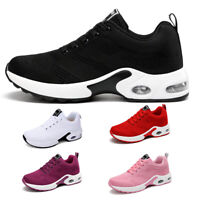 Women's Air Cushion Athletic Sneakers Casual Breathable Sports Running Shoes Gym