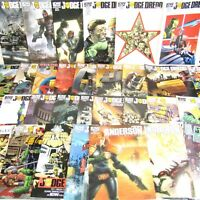IDW Judge Dredd Comics Job Lot Bundle (Mega City Two Courts Judge Anderson)