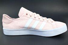 Adidas Womens Sz 9 Court Vantage Tennis Shoes Halo Pink White S32071 New No Box