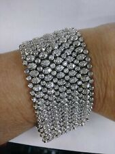 Vintage Tiffany & Co. 18KT White Gold  Diamond Tennis Bracelet 40.00cts