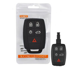 For Volvo XC90 C30 C70 V50 S40 S60 Silicone Car Remote Key Case Fob Cover Sleeve