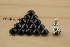 rivets leather rivet bag clothing shoes Cone 100 sets 7 mm AT53H