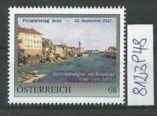 Österreich  personalisierte Marke Philatelietag GRAZ 8123948 **
