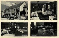 um 1940 Hotel Eifeler Hof in Heimbach Eifel Bes. B. Weisspflog Auto Weinzimmer