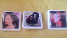 AND  3 MORE DIANA ROSS ALBUM BADGES / PINS FREE POSTAGE IN THE UK