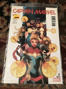 Captain Marvel # 1 Fried Pie Variant Edition New Sealed NM