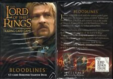 LOTR TCG Boromir Bloodlines Starter Deck Box SEALED 63 cards Lord of the Rings