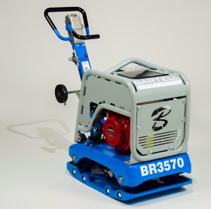 HOC BARTELL BR3570 REVERSIBLE PLATE COMPACTOR + 1 YEAR WARRANTY + FREE SHIPPING