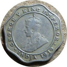 elf India British 4 Annas 1919 (c) George V