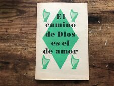 #22 WATCHTOWER Bible Society JEHOVAH WITNESS Book God's Way is Love SPANISH