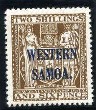 Samoa 1945 KGVI 2s6d deep brown MLH. SG 207. Sc 195.