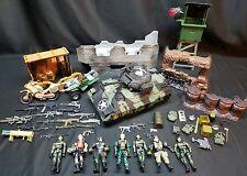 Soldier Force True Heroes Chap Mei Toys R Us Lot  ATV TANK War Zone Acc Figures