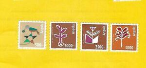 """ANGOLA 1994 - postfrisch**MNH - MiNr. 953-956 """"Volkskunst der Quioca: Malerei"""""""