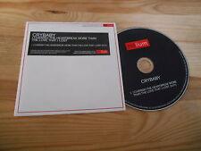 CD Indie Crybaby-i Cherish The Heartbreak more (1) canzone PROMO ELIO Coop CB