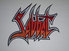 SABBAT THRASH METAL EMBROIDERED BACK PATCH